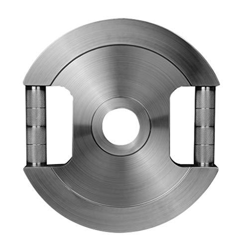 Discos de pesas Placas de acero inoxidable 304 con mancuernas de peso del 5 cm de ancho agujero de la placa Olímpico Barra Peso Inicio Ejercicio equipo de gimnasio para musculación ( Color : 10kg*1 )
