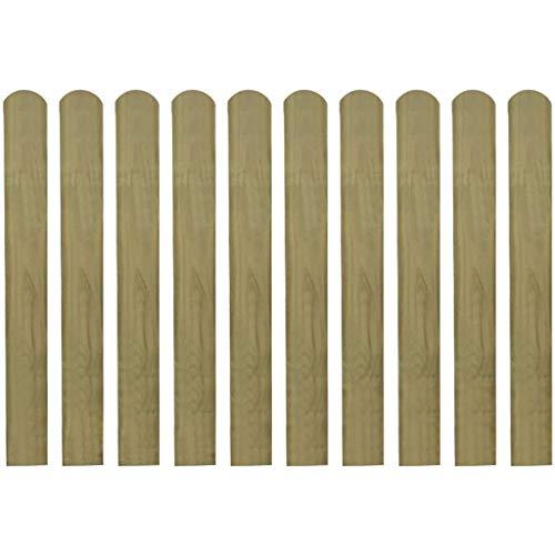 Zaunlatten 150cm Holzzaun Holz Zaun Brett Zaunbrett Gartenzaun