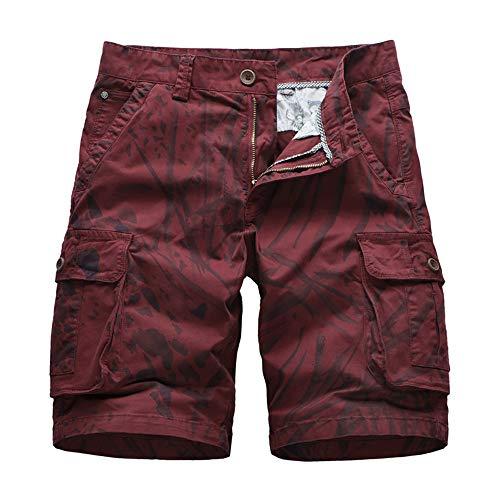 ZGRNPA Herren-Shorts aus Denim,...