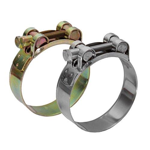 Gelenkbolzenschelle aus Edelstahl und Stahl verzinkt in 33 Grössen & 2 Materialen (Edelstahl V2A, 48-51mm)