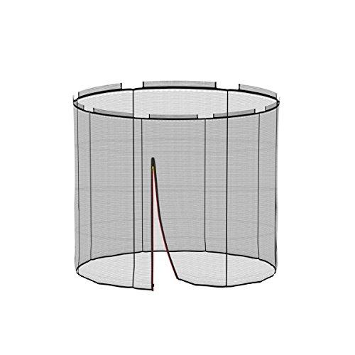 Ampel 24 Deluxe Sicherheitsnetz für Ground Trampolin Ø 183 cm, Ersatznetz für 6 Stangen, Netz innenliegend, Ersatzteil reißfest und UV-beständig