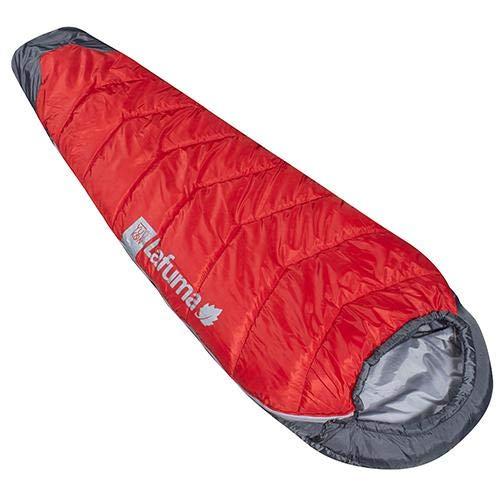 Lafuma Yukon 0° Schlafsack, für Freizeit und Wandern, Erwachsene, Unisex, Rot (rot), Einheitsgröße