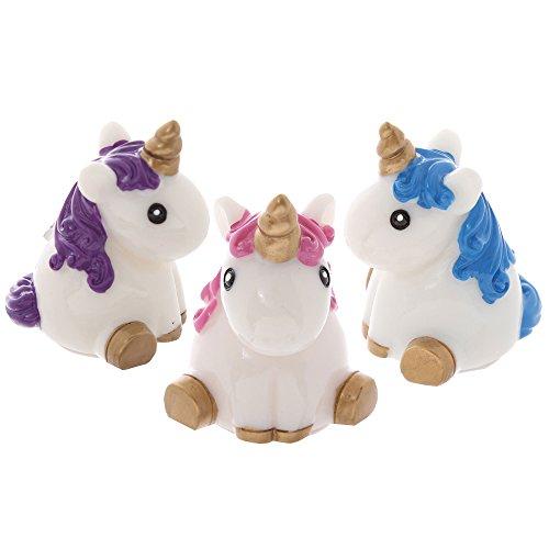 Burrocacao lucidalabbra in un simpatico contenitore a forma di unicorno, confezione da 3