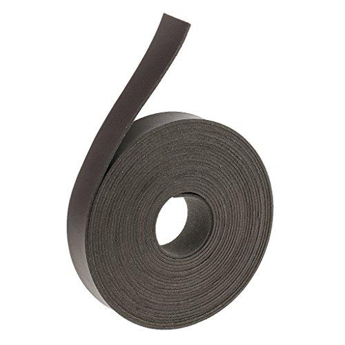 sharprepublic 5 Meter Lederband flach 20mm breit Lederriemen Lederbänder für DIY Taschengriffe, Gürtel - Dunkler Kaffee