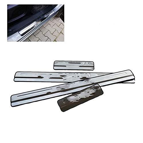 Pedale in acciaio inox per Qashqai J11 2014-2019 Door Sill Scuff Plate Door Sill Car Styling