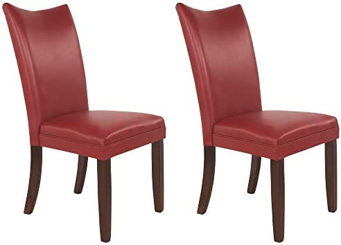 Best Signature Design by Ashley Charrell Dining Room Chair, Red
