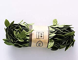 Astra Gourmet Artificial Vines, 26.9 Ft Fake Silk Ivy Garlands Simulation Foliage Rattan Green Leaves for Cake Decorative Home Wall Garden Wedding Party Wreaths Decor