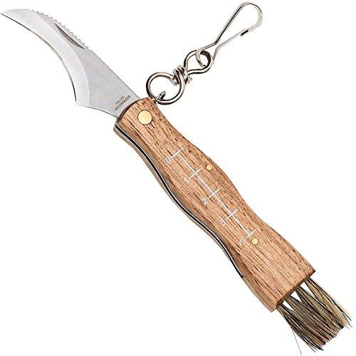 Haller 83284 Pilzmesser mit Zebraholzgriff Messer, Silber