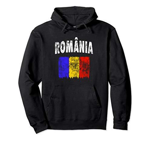 Romania - Rumänische Flagge Pullover Hoodie