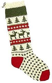 Candide Wool Yarn Christmas Stocking Knitting Kit (105 - Reindeer)