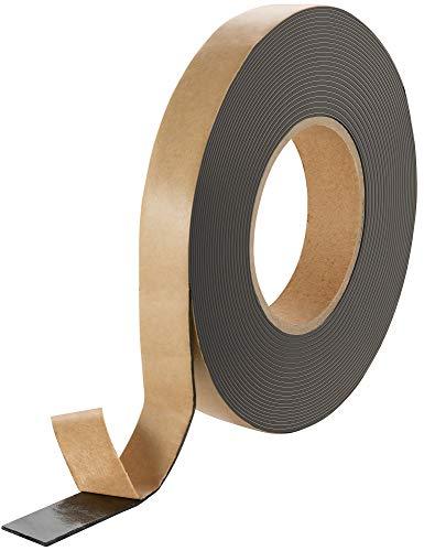 Poppstar doppelseitiges Butyl Klebeband (10m x 20mm x 1,6mm) Dichtband selbstklebend schwarz