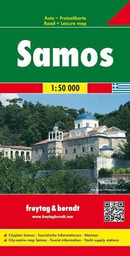 F&B Samos: Toeristische wegenkaart 1:50 000