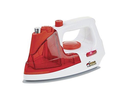 Happy People 45182 - huishoudspeelgoed strijkijzer, rood/wit