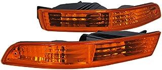 Spec-D Tuning LB-INT94AM-RS Acura Integra Rs Ls Gs Bumper Lights Amber