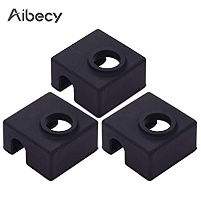 Aibecy 3pcs MK9 Hotend Silicone Sock Heater Block Protective Silicone Cover Case Compatible with Creality Ender 3 Ender 3 Pro Ender 5 CR-10 10S S4 S5 Anet A8 3D Printer