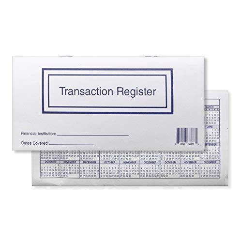 Lot de 10 registres de chèques pour chèques personnels, Transactions Ledgers, 2021-2022-2023