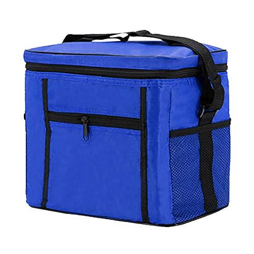 HuangjinyeTY 10L - Caja de Hielo con Aislamiento para Almuerzo, Bolsa térmica para Picnic, Bolsa térmica (Wish-3 Blue)