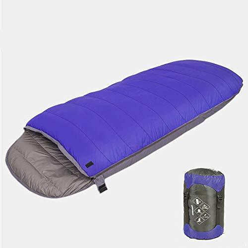 DKee Sleeping Bag Einzelne Kalte Kampierende Herbst- Und Winterkühlung des Eiförmigen Unten Schlafsacks Erwachsenen Im Freien Erwachsenen Im Freien, Die Null Verdickt