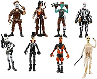 3.2inch 8pcs/set Fortnite Anime character Action Figure Model Toys Kids Gift Fortnite toy