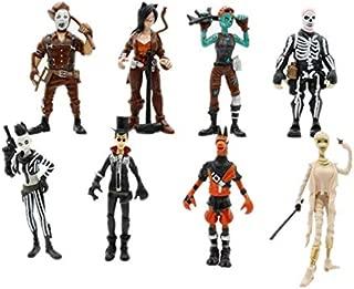 3.2inch 8pcs/set Fortnite Anime character Action Figure Model Toys Kids Gift Fortnite toy