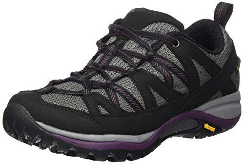 Merrell Siren Sport 3 GTX, Zapatillas para Caminar Mujer, Negro (Negro/Blackberry), 36 EU