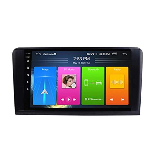Android 8.1 Radio De Automóvil Para Mercedes Benz ML Class W164 ML300 ML430 Coche Estéreo GPS Navegación Táctil Pantalla Touch Player Doble Din Head Unit Support WiFi Control Del (Color:4G+WIFi:2+32G)
