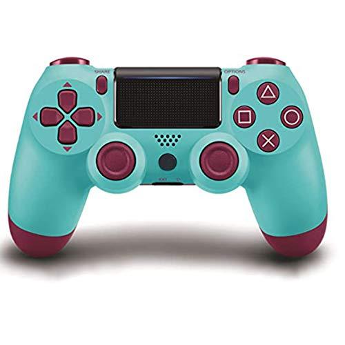 GSYX Mando inalámbrico DualShock 4 para Playstation 4-Berry Blue