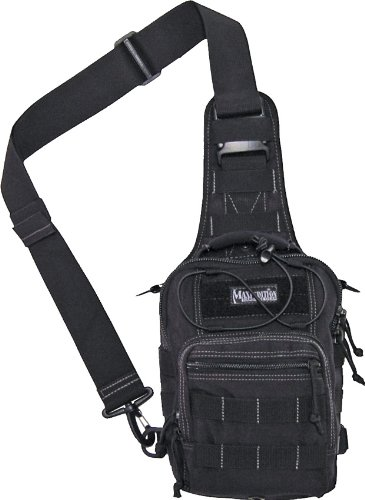 Maxpedition 0419B - Macuto de Senderismo, Color Negro, Talla 25 in