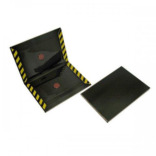 10x - Klebefalle für Ungeziefer - Stark klebend - universelle Verwendung (Schwarz - Stark (10 Stück))