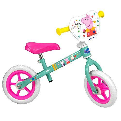 Guizmax Fahrrad-Laufrad für Peppa Wutz, 25,4 cm (10 Zoll), ohne Pedal