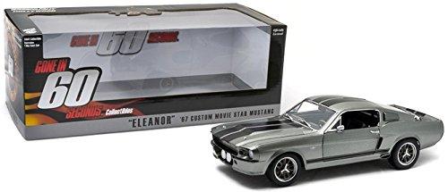 Greenlight Nur noch 60 Sekunden 1967 Ford Mustang Shelby Eleanor Diecast 1/18 Modellauto