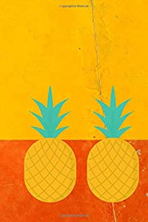 Cool Pineapples: A 6x9 Lined Notebook Journal