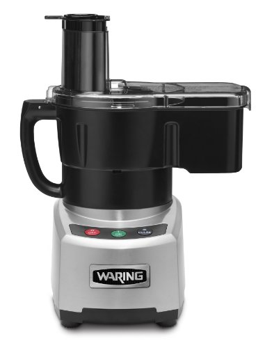 Waring Commercial Sealed Batch Bowl/Continuous Dicing Food Processor with LiquiLock Seal System, 4-Quart
