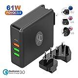 USB C Ladegerät Netzteil 61W Power Delivery für Laptop 24W