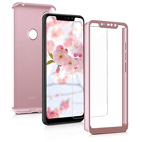 kwmobile Cover for Xiaomi Redmi Note 6 Pro - Shockproof Protective Full Body Case with Screen...