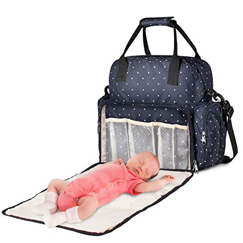 Maydolly 3 in 1Extra Large Baby Changing Bag Backpack with Removable...