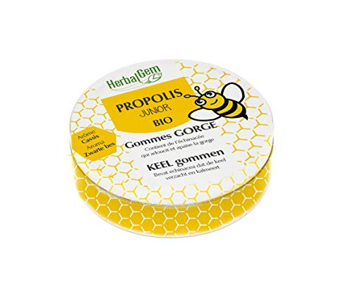 HerbalGem Propolis Junior Gommes Boites Métalliques Bio