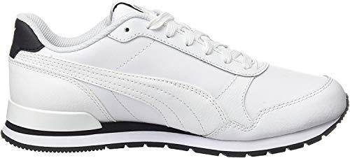 Puma Unisex-Erwachsene ST Runner v2 Full L Sneaker, Weiß White White, 42.5 EU