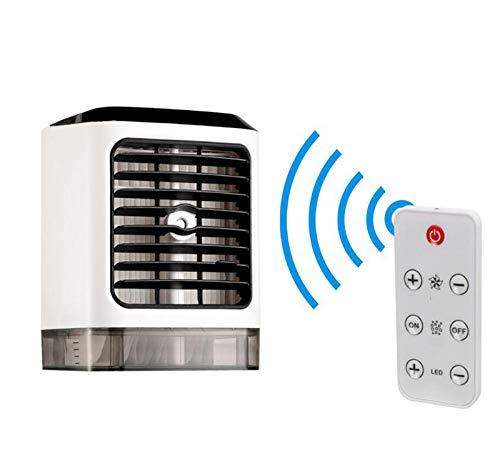 HeartRain Refrigerador de Aire de Carga por USB Colorido casero portátil de la luz USB de la Noche del acondicionador de Aire, purificador del Aire, humidificador del Aire