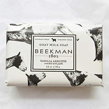 Beekman 1802 Goat Milk Soap 3.5 oz  palm size   Vanilla Absolute