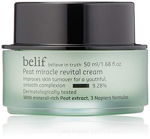 | belif Peat Miracle Revital Cream | Anti-Aging Face Cream for Elasticity |