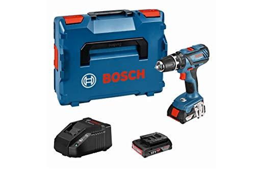 Bosch Professional GSB 18-2-LI Plus Professional, voltaje de batería 18V, ajuste de par 20 +1 (18V 21)