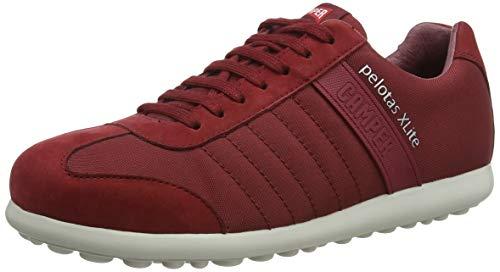 Camper Pelotas XL, Zapatos de Cordones Oxford para Hombre, Rojo (Medium Red 610), 43 EU