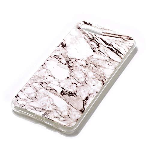 SEYCPHE Huawei Nova 2S Hülle Handyhülle TPU Silikon Weiche Schlank Schutzhülle Handytasche Gummi Dünn Flexibel Case Handy Hülle für Huawei Nova 2S - Marmor Weiß - 3
