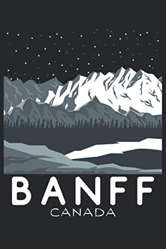 Banff Journal: Canada Diary for Skier, Snowboarder, Hiker, Camper, Traveler | Lake Louise Notebook | Blank Lined Composition Journal | 120 Pages 6