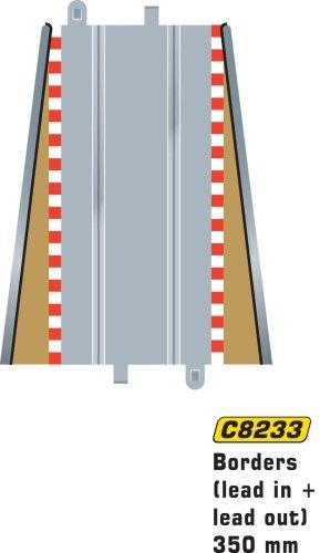Hornby France - C8233 - Scalextric - Voiture - Bordures et barrières extérieures