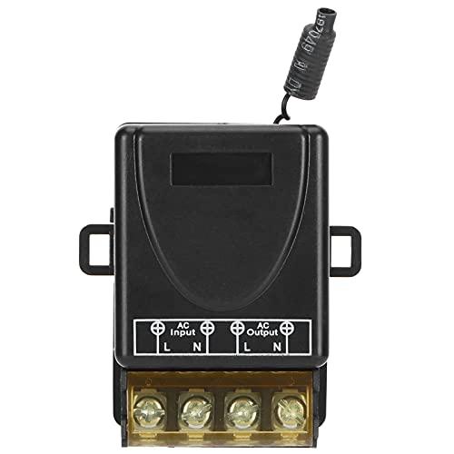 Controlador de relé Mhz KR2201B-4220V relé de control remoto de alta potencia 433Mhz para motor de bomba de agua