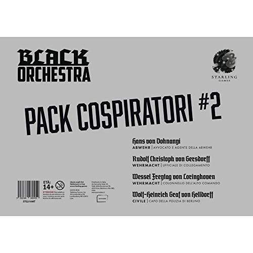Black Orchestra: Pack Cospiratori 2 juegos de mesa en italiano