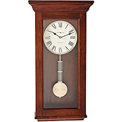 Howard Miller Continental Wall Clock 625-468 – Wooden with Quartz & Single Chime Movement