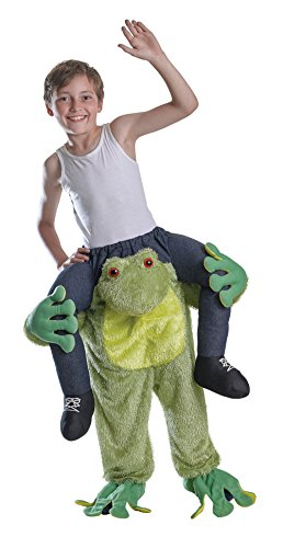 Bristol Novelty CC570 Huckepack Frosch Kostüm, Grün, Einheitsgröße
